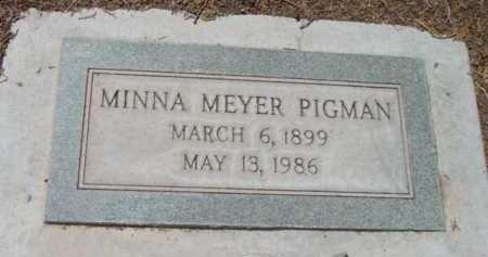 MEYER PIGMAN, MINNA - Yavapai County, Arizona | MINNA MEYER PIGMAN - Arizona Gravestone Photos