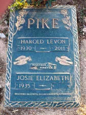 PIKE, HAROLD LEVON - Yavapai County, Arizona   HAROLD LEVON PIKE - Arizona Gravestone Photos