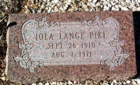 PIKE, IOLA ALICE - Yavapai County, Arizona | IOLA ALICE PIKE - Arizona Gravestone Photos