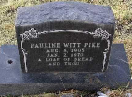 PIKE, PAULINE MARTHA - Yavapai County, Arizona | PAULINE MARTHA PIKE - Arizona Gravestone Photos