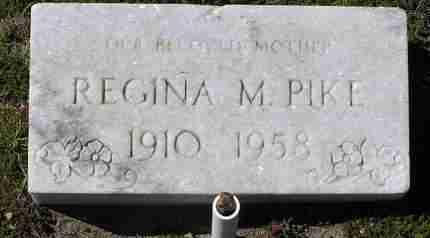 BURKE PIKE, REGINA M. - Yavapai County, Arizona   REGINA M. BURKE PIKE - Arizona Gravestone Photos