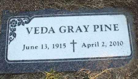 GRAY PINE, VEDA MYRTLE - Yavapai County, Arizona   VEDA MYRTLE GRAY PINE - Arizona Gravestone Photos