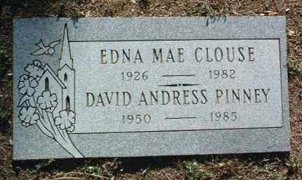 PINNEY, DAVID ANDRESS - Yavapai County, Arizona | DAVID ANDRESS PINNEY - Arizona Gravestone Photos