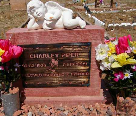 PIPER, CHARLEY - Yavapai County, Arizona | CHARLEY PIPER - Arizona Gravestone Photos