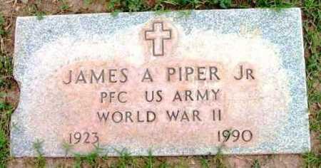PIPER, JAMES A., JR. - Yavapai County, Arizona | JAMES A., JR. PIPER - Arizona Gravestone Photos