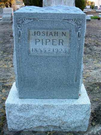 PIPER, JOSIAH NEVADA (JOHN) - Yavapai County, Arizona | JOSIAH NEVADA (JOHN) PIPER - Arizona Gravestone Photos