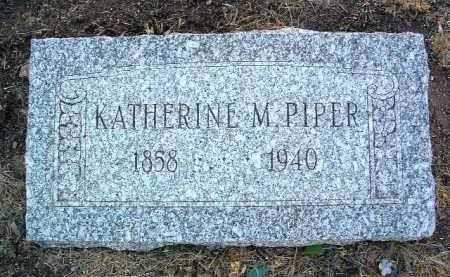 MCGREW PIPER, KATHERINE M. - Yavapai County, Arizona | KATHERINE M. MCGREW PIPER - Arizona Gravestone Photos