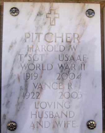 PITCHER, HAROLD W. - Yavapai County, Arizona | HAROLD W. PITCHER - Arizona Gravestone Photos