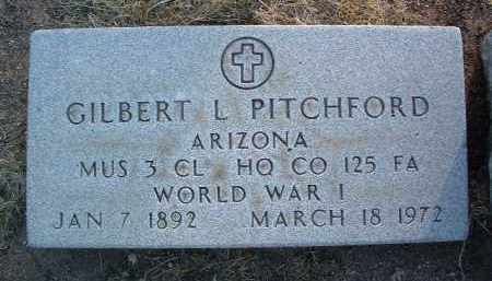 PITCHFORD, GILBERT - Yavapai County, Arizona | GILBERT PITCHFORD - Arizona Gravestone Photos