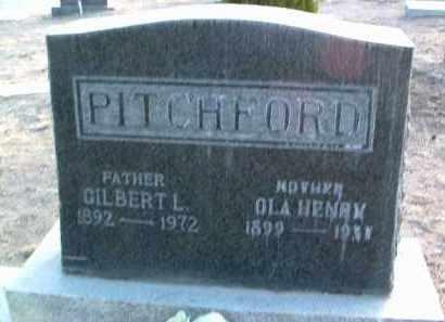 PITCHFORD, OLA G. - Yavapai County, Arizona | OLA G. PITCHFORD - Arizona Gravestone Photos