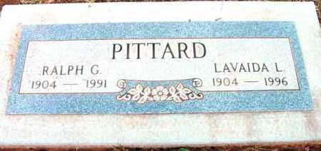 PITTARD, RALPH G. - Yavapai County, Arizona | RALPH G. PITTARD - Arizona Gravestone Photos
