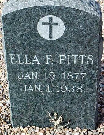 FOLEY PITTS, ELLA - Yavapai County, Arizona | ELLA FOLEY PITTS - Arizona Gravestone Photos