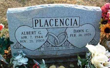 PLACENCIA, ALBERT G. - Yavapai County, Arizona | ALBERT G. PLACENCIA - Arizona Gravestone Photos
