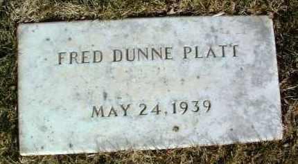 PLATT, FRED DUNNE - Yavapai County, Arizona | FRED DUNNE PLATT - Arizona Gravestone Photos