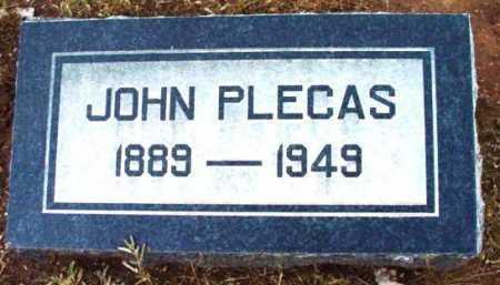 PLECAS, JOHN - Yavapai County, Arizona | JOHN PLECAS - Arizona Gravestone Photos