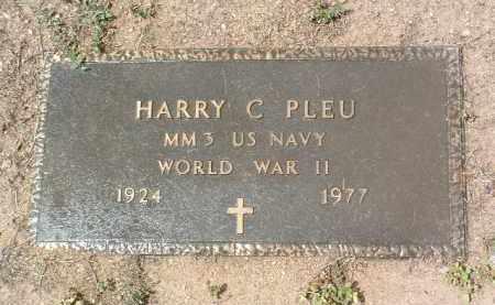 PLEU, HARRY CALVIN - Yavapai County, Arizona | HARRY CALVIN PLEU - Arizona Gravestone Photos