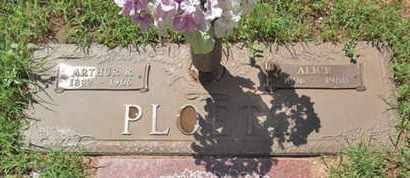 PLOETZ, ARTHUR ROBERT - Yavapai County, Arizona | ARTHUR ROBERT PLOETZ - Arizona Gravestone Photos