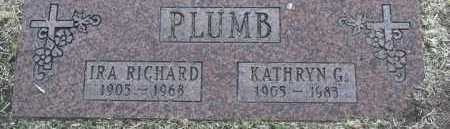 PLUMB, IRA RICHARD - Yavapai County, Arizona | IRA RICHARD PLUMB - Arizona Gravestone Photos