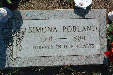 POBLANO, SIMONA - Yavapai County, Arizona | SIMONA POBLANO - Arizona Gravestone Photos