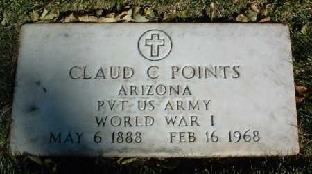 POINTS, CLAUD CLAY - Yavapai County, Arizona | CLAUD CLAY POINTS - Arizona Gravestone Photos
