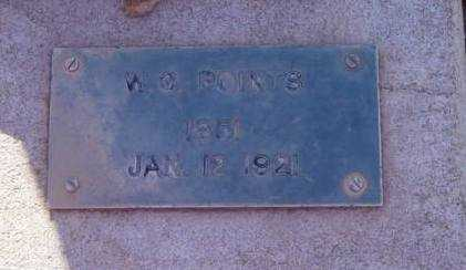 POINTS, WILLIS GARTH - Yavapai County, Arizona | WILLIS GARTH POINTS - Arizona Gravestone Photos