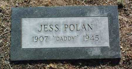 POLAN, JESS - Yavapai County, Arizona | JESS POLAN - Arizona Gravestone Photos
