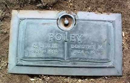 POLEY, CLYDE LESLIE - Yavapai County, Arizona | CLYDE LESLIE POLEY - Arizona Gravestone Photos