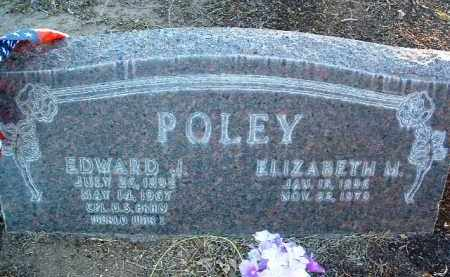 POLEY, EDWARD JACOB - Yavapai County, Arizona | EDWARD JACOB POLEY - Arizona Gravestone Photos