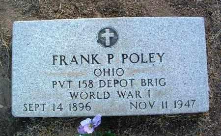 POLEY, FRANCIS PATRICK - Yavapai County, Arizona | FRANCIS PATRICK POLEY - Arizona Gravestone Photos