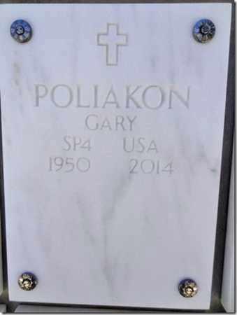 POLIAKON, GARY - Yavapai County, Arizona | GARY POLIAKON - Arizona Gravestone Photos