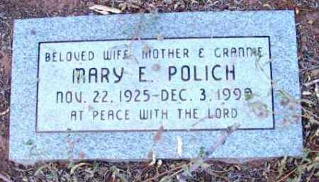 POLICH, MARY ERLINE - Yavapai County, Arizona   MARY ERLINE POLICH - Arizona Gravestone Photos