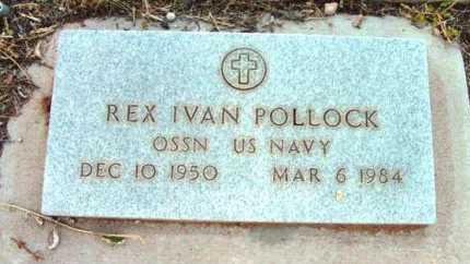 POLLOCK, REX IVAN - Yavapai County, Arizona   REX IVAN POLLOCK - Arizona Gravestone Photos
