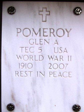 POMEROY, GLEN A - Yavapai County, Arizona | GLEN A POMEROY - Arizona Gravestone Photos
