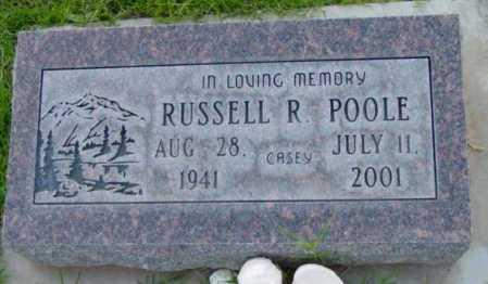 POOLE, RUSSELL RECKER - Yavapai County, Arizona   RUSSELL RECKER POOLE - Arizona Gravestone Photos
