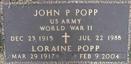 KNUDSON POPP, LORAINE - Yavapai County, Arizona | LORAINE KNUDSON POPP - Arizona Gravestone Photos