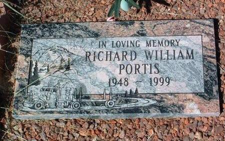 PORTIS, RICHARD WILLIAM - Yavapai County, Arizona | RICHARD WILLIAM PORTIS - Arizona Gravestone Photos