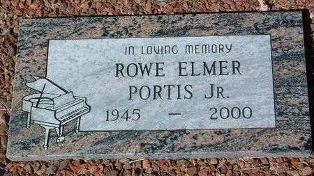 PORTIS, ROWE ELMER JR. - Yavapai County, Arizona | ROWE ELMER JR. PORTIS - Arizona Gravestone Photos