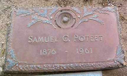 POTEET, SAMUEL GILLESPIE - Yavapai County, Arizona | SAMUEL GILLESPIE POTEET - Arizona Gravestone Photos