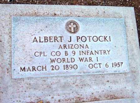 POTOCKI, ALBERT JOHN - Yavapai County, Arizona | ALBERT JOHN POTOCKI - Arizona Gravestone Photos