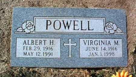 POWELL, ALBERT HERBERT - Yavapai County, Arizona | ALBERT HERBERT POWELL - Arizona Gravestone Photos