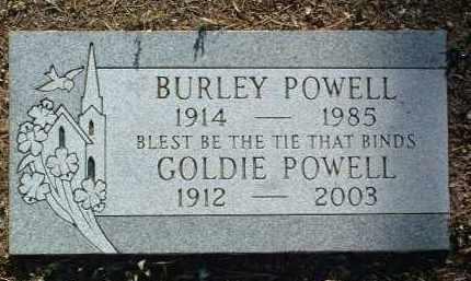 POWELL, BURLEY - Yavapai County, Arizona   BURLEY POWELL - Arizona Gravestone Photos