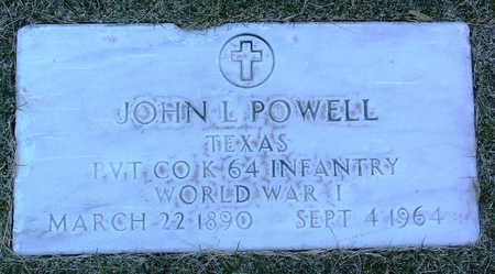 POWELL, JOHN  L. - Yavapai County, Arizona | JOHN  L. POWELL - Arizona Gravestone Photos