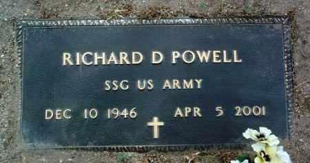 POWELL, RICHARD DAVID - Yavapai County, Arizona   RICHARD DAVID POWELL - Arizona Gravestone Photos