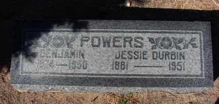 POWERS, BENJAMIN TERRELL - Yavapai County, Arizona | BENJAMIN TERRELL POWERS - Arizona Gravestone Photos