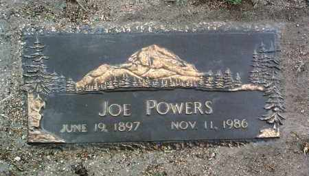 POWERS, JOSEPH J. (JOE) - Yavapai County, Arizona | JOSEPH J. (JOE) POWERS - Arizona Gravestone Photos
