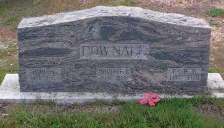 POWNALL, ESSIE M. - Yavapai County, Arizona | ESSIE M. POWNALL - Arizona Gravestone Photos