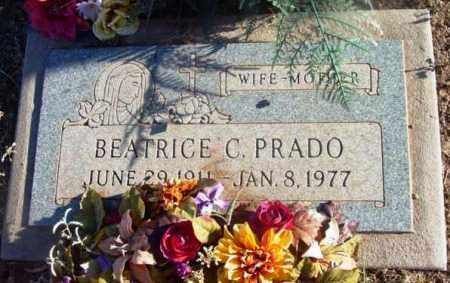 PRADO, BEATRICE C. - Yavapai County, Arizona | BEATRICE C. PRADO - Arizona Gravestone Photos