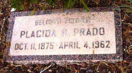 PRADO, PLACIDA P. - Yavapai County, Arizona | PLACIDA P. PRADO - Arizona Gravestone Photos