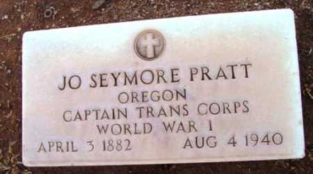 PRATT, JO SEYMORE - Yavapai County, Arizona | JO SEYMORE PRATT - Arizona Gravestone Photos