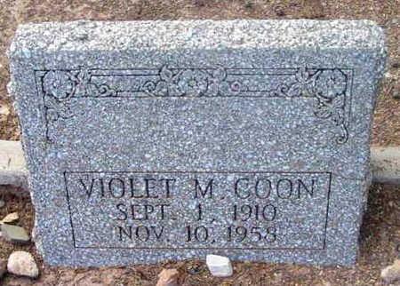 PRAY COON, VIOLET MARIE - Yavapai County, Arizona | VIOLET MARIE PRAY COON - Arizona Gravestone Photos